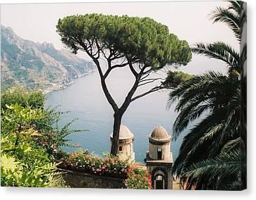 The Amalfi Coast Canvas Print by Peter Viteritti