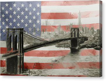 The American Dream Canvas Print by Steve K