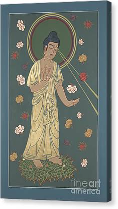 The Amitabha Buddha Descending 247 Canvas Print
