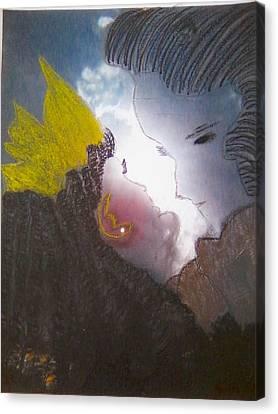 The Ancient Romance Canvas Print by Alexandra Felecan