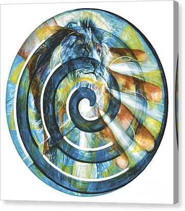 The Angel Michael Canvas Print
