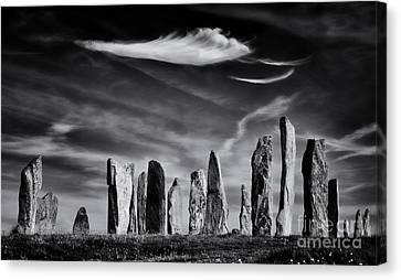 The Angel Of Callanish  Canvas Print by Tim Gainey
