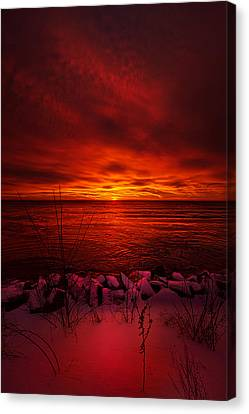 The Angels Have A Better View Canvas Print by Phil Koch