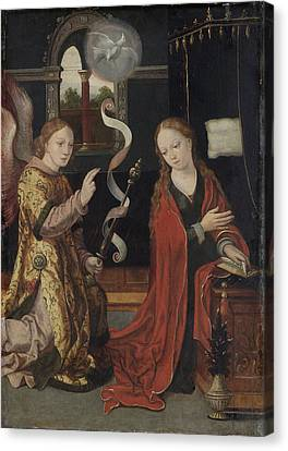 The Annunciation, Anonymous Canvas Print by Litz Collection