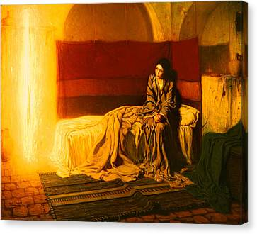 The Annunciation Canvas Print by Mountain Dreams