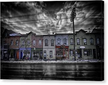 Canvas Print featuring the photograph The Answers You Seek Will Never Be Found At Home by Russell Styles