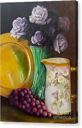 The Antique Pitcher Canvas Print by Marlene Book