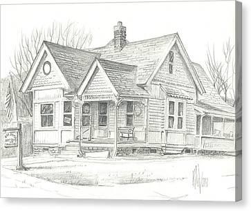 The Antique Shop Canvas Print