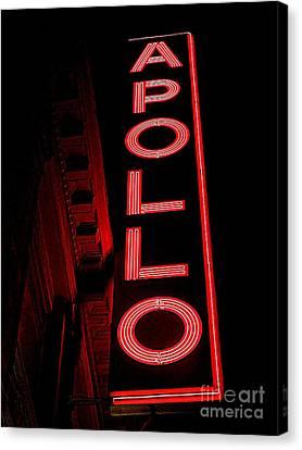 Apollo Theater Canvas Print - The Apollo by Ed Weidman