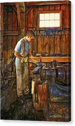 The Apprentice - Paint Canvas Print by Steve Harrington