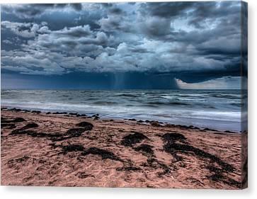 The Approaching Storm Canvas Print by Matt Dobson