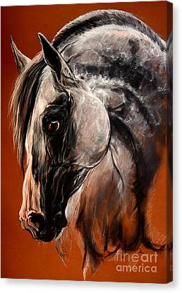 The Arabian Horse Canvas Print by Angel  Tarantella