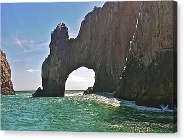 The Arch Lands End Cabo San Lucas  Canvas Print by Jennifer Lamanca Kaufman