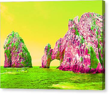 Colorful Canvas Print - The Arch by Mike Podhorzer