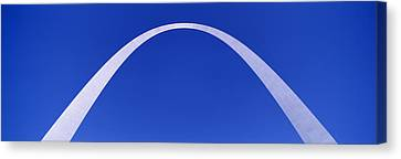 Stainless Steel Canvas Print - The Arch, St Louis, Missouri, Usa by Panoramic Images