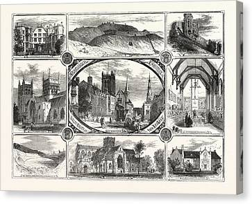 The Archeological Institute Of Great Britain And Ireland Canvas Print by Irish School