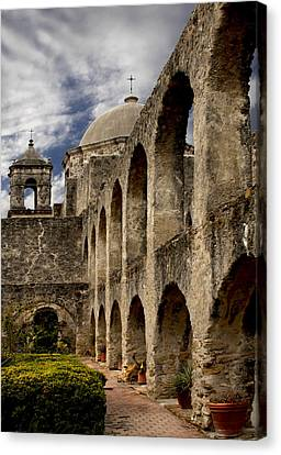 The Arches Of San Jose  Canvas Print by David and Carol Kelly