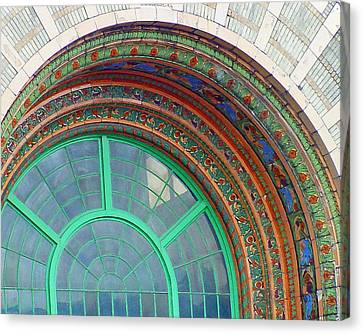 The Arching Entryway Canvas Print by Chip Schilling