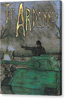 The Ardennes Canvas Print