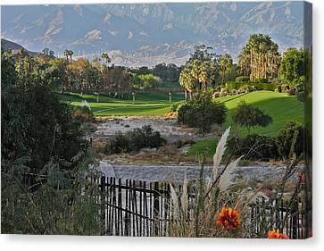The Arroyo In Rancho Mirage Canvas Print by Kirsten Giving