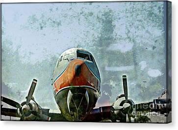 The Art Of Dc7 Canvas Print