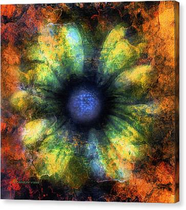 Nature Abstracts Canvas Print - The Art Of Decay by Georgiana Romanovna