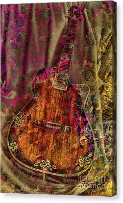The Art Of Music Canvas Print by Steven Lebron Langston