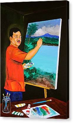Pinoy Canvas Print - The Artist by Cyril Maza