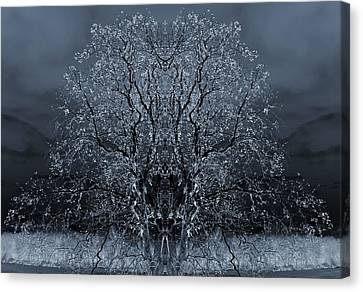 The Artwork Of Trees Canvas Print by Dan Sproul