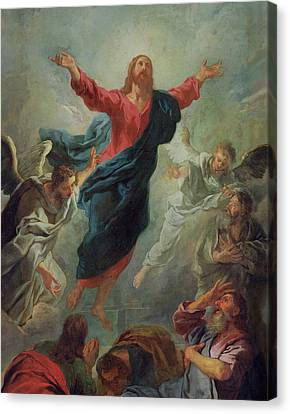 The Ascension Canvas Print by Jean Francois de Troy