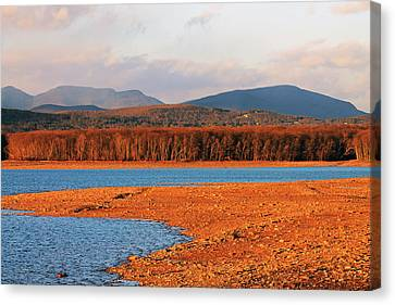 The Ashokan Reservoir Canvas Print