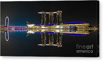 The Asian Power House Canvas Print by Pete Reynolds