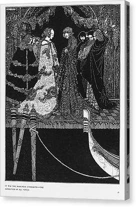 The Assignation Canvas Print by British Library