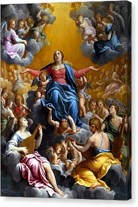 The Assumption Of The Virgin Mary Canvas Print