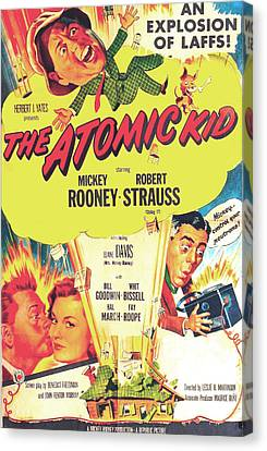 The Atomic Kid, Us Poster, Mickey Canvas Print by Everett
