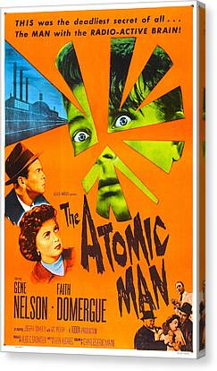 The Atomic Man, Aka Timeslip, Us Canvas Print by Everett