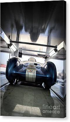 The Attempt- Mickey Thompson- Metal And Speed Canvas Print by Holly Martin