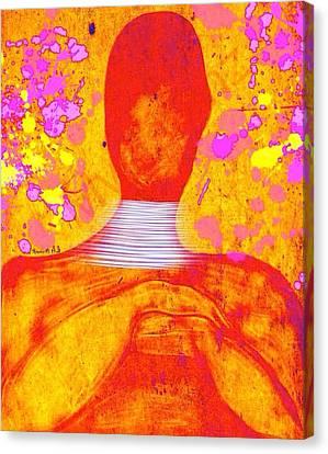 The Aura Canvas Print by Romaine Head