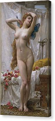 The Awakening Of Psyche Canvas Print by Guillaume Seignac