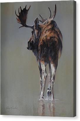 Art Of Mia Delode Canvas Print - The Bachelor by Mia DeLode