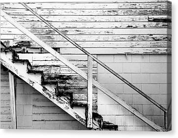 The Back Stairs Canvas Print by Beverly Stapleton