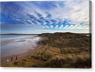 The Backstrand, Tramore, County Canvas Print by Panoramic Images