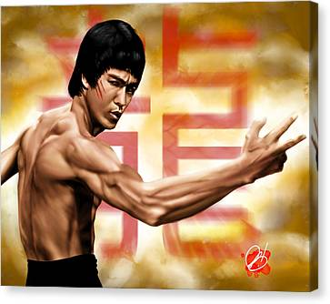 The Baddest Canvas Print by Pete Tapang
