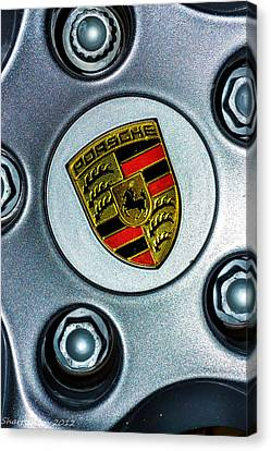 The Badge Canvas Print