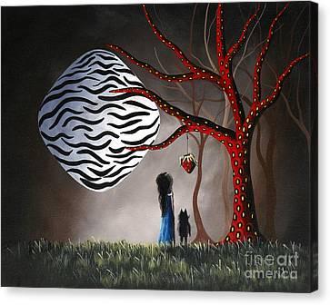 The Bait By Shawna Erback Canvas Print by Shawna Erback
