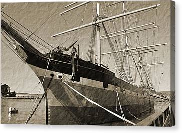 The Balclutha Canvas Print by Holly Blunkall
