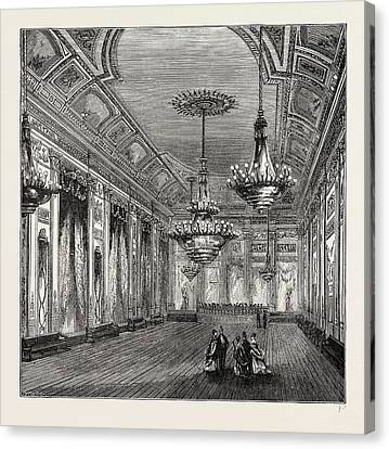 The Ball-room, Williss Rooms Canvas Print by Litz Collection