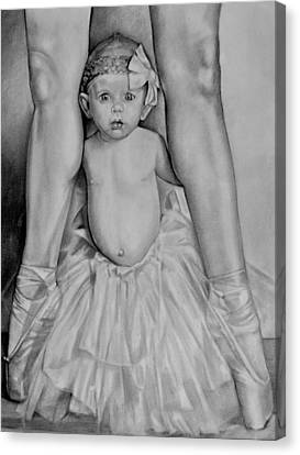 The Ballerina Canvas Print by Curtis James