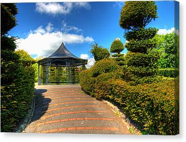The Bandstand Canvas Print by Steve Purnell
