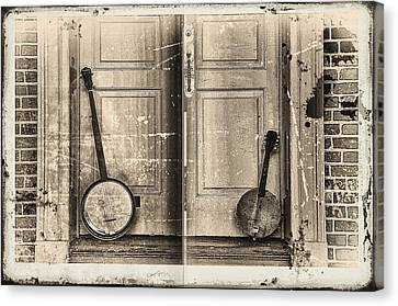 The Banjo Story Canvas Print by Bill Cannon